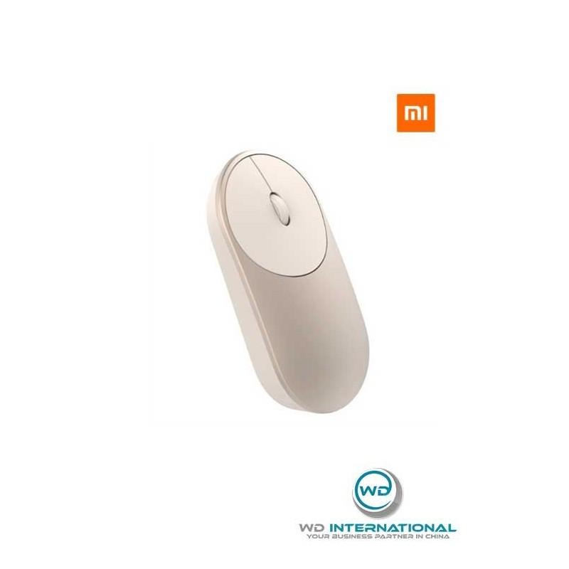 Souris Sans Fil Xiaomi Mi Portable Mouse Or