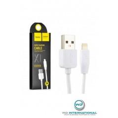Câble HOCO X1 Charge Rapide Lightning 2m Blanc