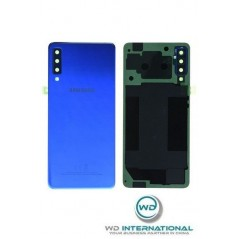 Back Cover Samsung A7 2018 Bleu Service Pack