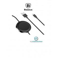 Chargeur induction BASEUS avec sortie USB + Lightning Noir