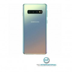 Back Cover Samsung S10 Argent Service pack