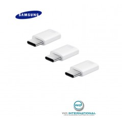Adaptateur Samsung Micro USB vers USB Type C Blanc