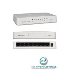 Switch 8 Puertos Ethernet 10/100Mbps FS208