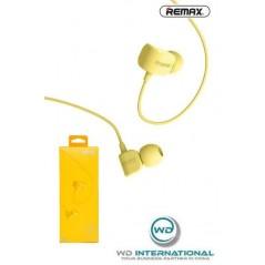 Écouteurs Remax RM-502 Jaune