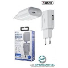 Adaptateur Secteur Remax charge lightning pour aipods RP- U32 Blanc