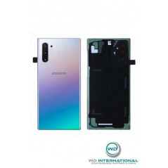Back cover Samsung Note 10 Aura Plateado Service Pack