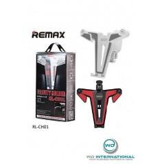 Support de téléphone Remax Gravity Holder Noir et Rouge
