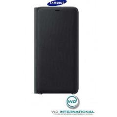 Etui Officiel Wallet Cover Samsung A7 2018 Noir