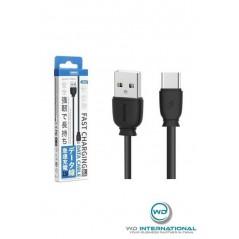 Câble Remax Fast charge type c 2.1A Noir