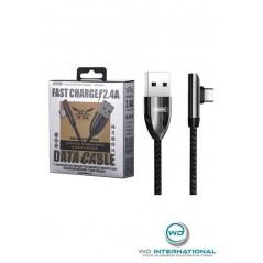 Câble Remax USB Type-C Fast Charge RC-103A Noir