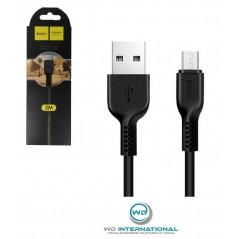 Câble Hoco X20 Micro USB - 2 Mètre Noir