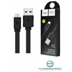 Câble Hoco X5 USB Type-C 1M Noir