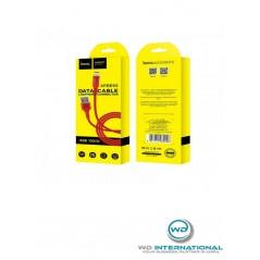 Câble Hoco X26 Lightning Rouge 1m