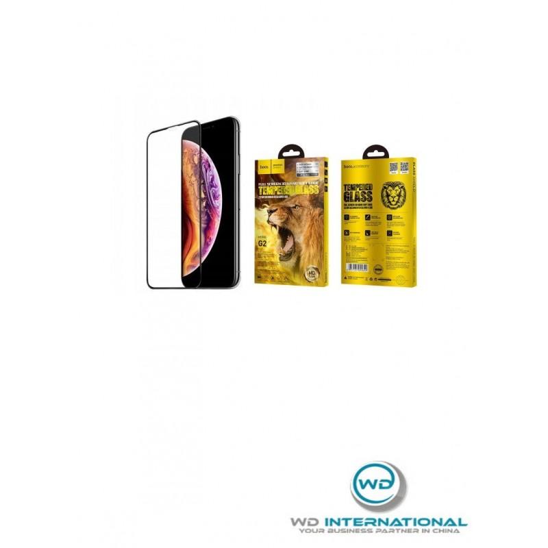 Verre Trempé Noir Hoco G2 IPhone XR / 11