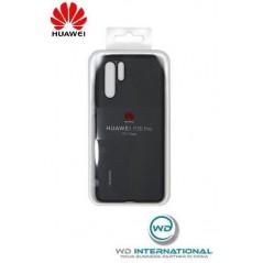 Carcasa Oficial PU Case Huawei P30 Pro Negro