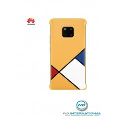 Coque Officielle Jaune Abstract Art Huawei Mate 20 Pro