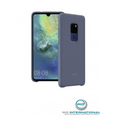 Coque Officielle Silicone Bleu nuit Huawei Mate 20