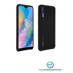 Coque Officielle Silicone Noir Huawei P20