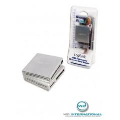 Lecteur de cartes USB 2.0 Argent LogiLink