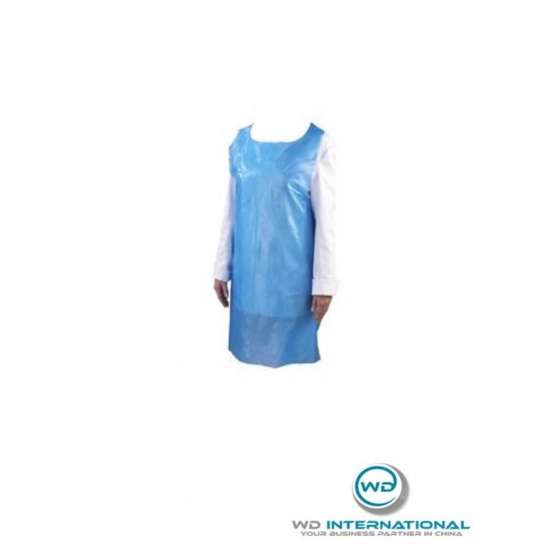 Pack de 200 Sur-blouses Jetables Bleues Taille 120x76cm