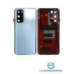 Back Cover Frost Argent Origine constructeur Huawei P40