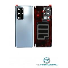 Back Cover Frost Argent Origine constructeur Huawei P40 Pro