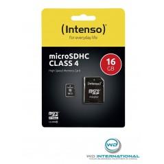 Carte Micro SDXC intenso 16Gb