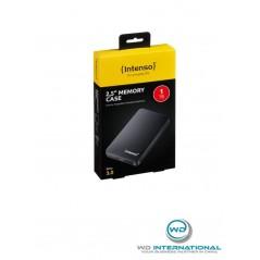 """Disque dur externe 2,5"""" Noir Intenso Memory Case 1 TB USB 3.0"""