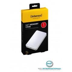 "Disque dur externe 2,5"" Blanc Intenso Memory Case 1 TB USB 3.0"