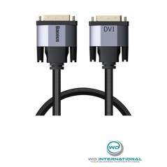 Câble Bi-directionne Baseus l DVI Male vers DVI Mâle 3m