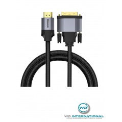 Câble HDMI Baseus 4K à DVI-D Dual Link Mâle 1m