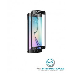 Verre trempé incurvé Samsung Galaxy S6 Edge – Blanc