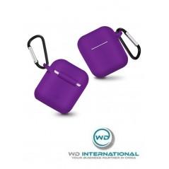 Étui en silicone ultra-fin pour Apple Airpods Violet