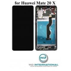 Écran Huawei Mate 20X Noir (avec châssis)