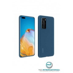 Coque officielle Bleue Silicone Case - Huawei P40 Pro