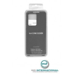 Coque Officielle Noire - Silicone Cover Samsung Galaxy S20