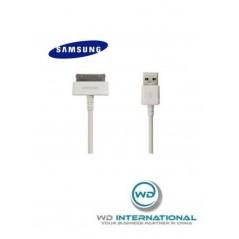 Câble d'alimentation Original Blanc Samsung Tab 2 - 30 Pin - 1m