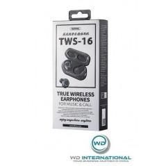 Écouteurs Bluetooth - Noir - Remax TWS-16