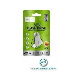 Clé USB 2 en 1 HOCO 32 Go - USB C et USB 3.0
