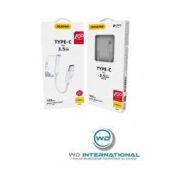 Câble Adaptateur Jack USB-C - Blanc - Dudao L16C Pro