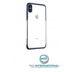 Coque Bleue et Transparente Baseus Shining iPhone XS Max (ARAPIPH65-MD03)