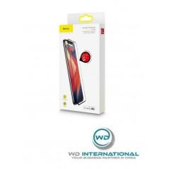Verre Trempé Baseus 0.23mm Full pour iPhone X / XS Noir (SGAPIPH58-APE01)