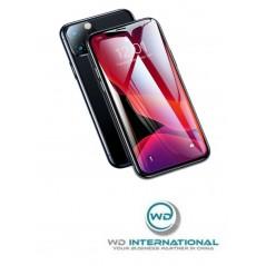 Verre Trempé Baseus 0.23mm Full pour iPhone XR Noir (SGAPIPH61-APE01)