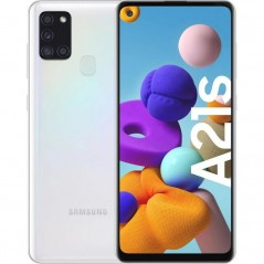 Telefono Nuovo Bianco Samsung A21S 32Go