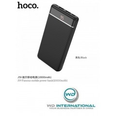 Power Bank Noir Hoco J59 Famous 10 000mAh LED