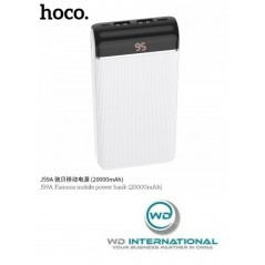 Power Bank Blanc Hoco J59A Famous 20 000mAh LED