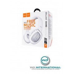 Casque Bluetooth Blanc Hoco W23 Brilliant Free music