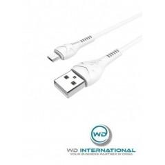 Câble Blanc Hoco X37 Cool Micro USB