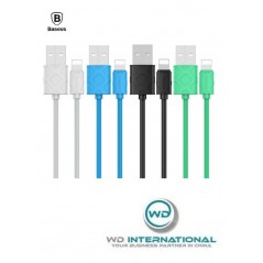 Câble Blanc Baseus Yaven Lightning 2.1A 1M (CALUN-02)