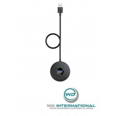 Adaptateur HUB Noir Baseus Round Box USB 3 vers USB 3 et USB 2 x3 1M (CAHUB-U01)